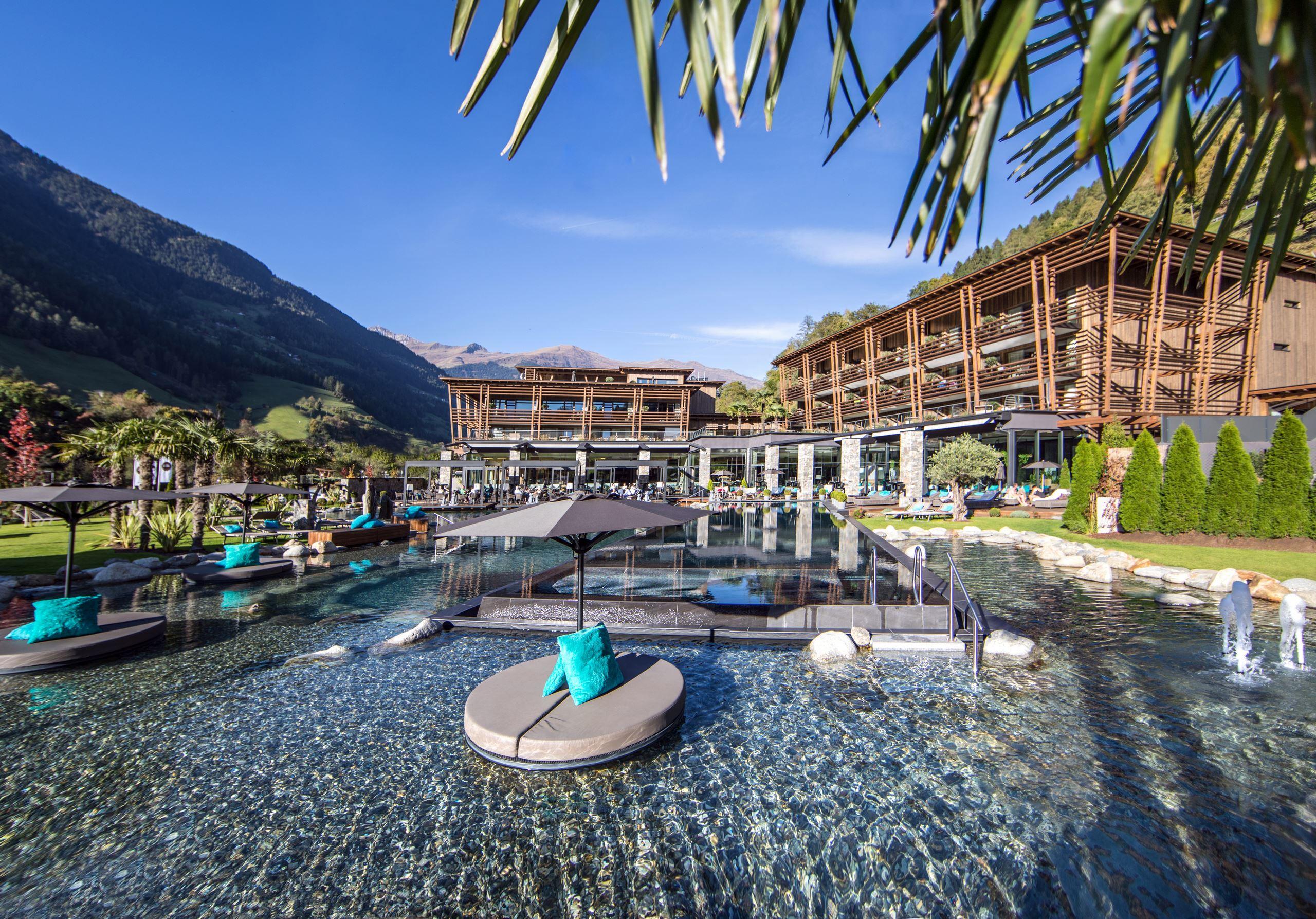 5 Sterne Wellnesshotels In Sudtirol Bei Meran Andreus Resorts